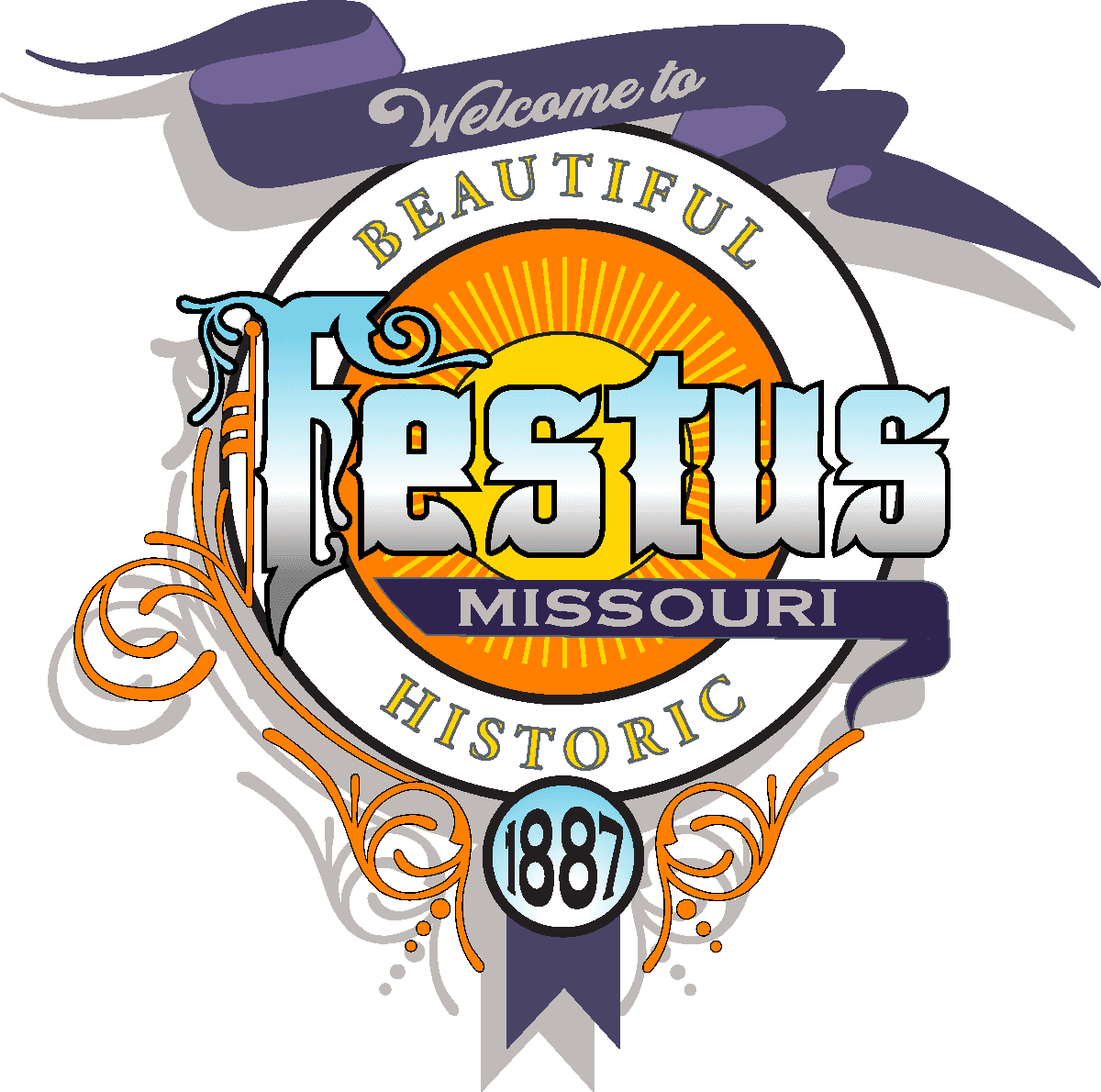 FESTUS Missouri city logo 2020