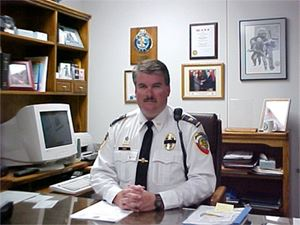 Police Chief Tim Lewis