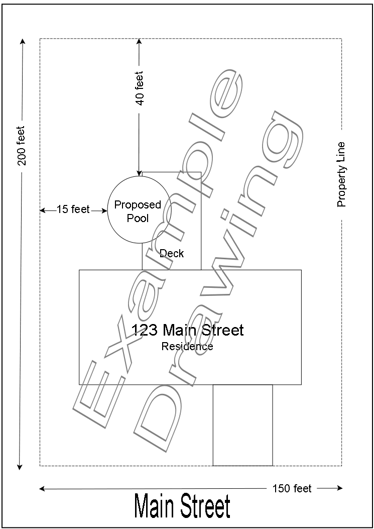 Example Site Plan
