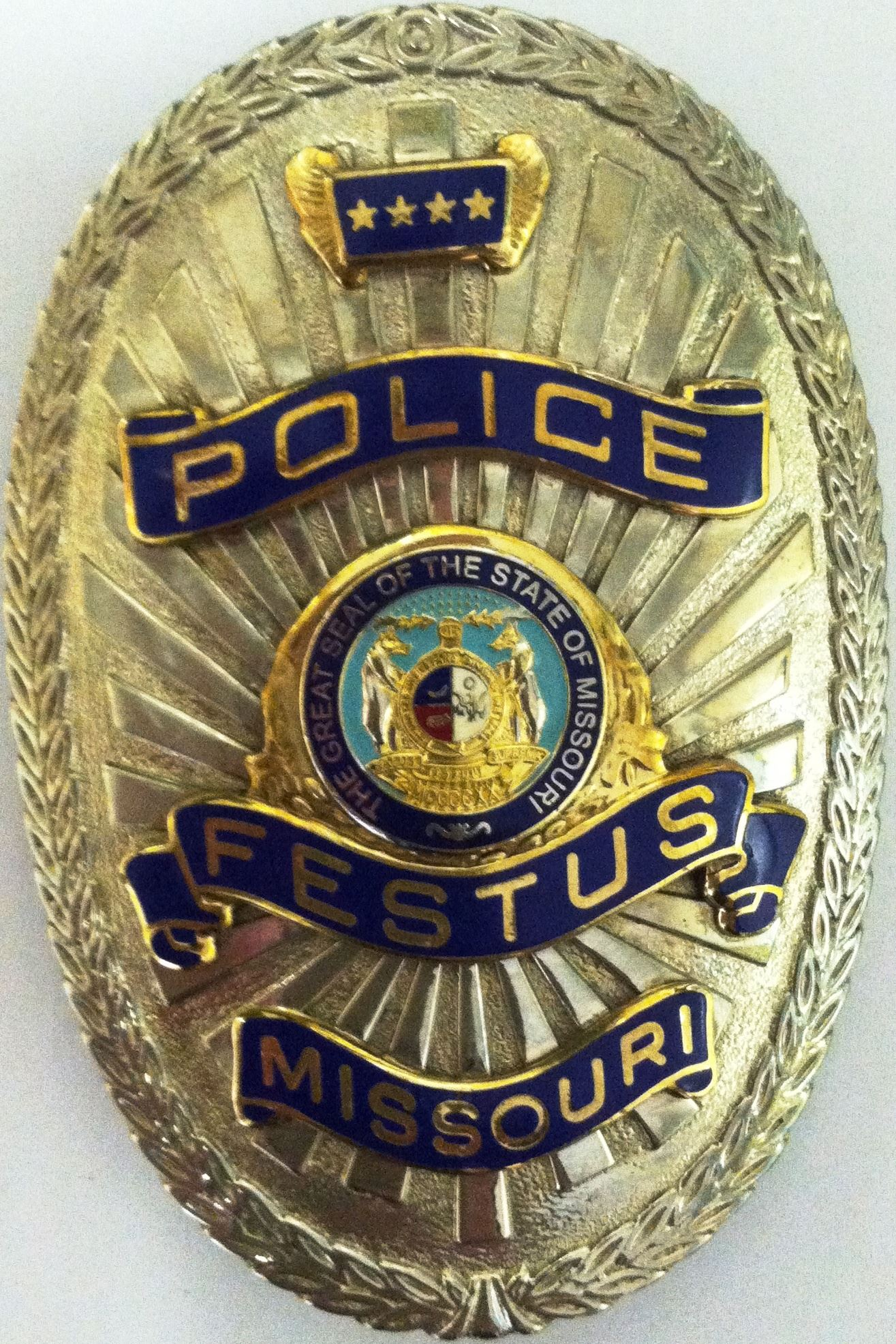 City of Festus Police Badge