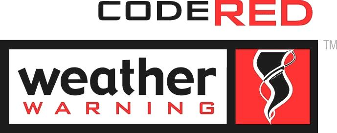 CodeRED Weather Warning Logo