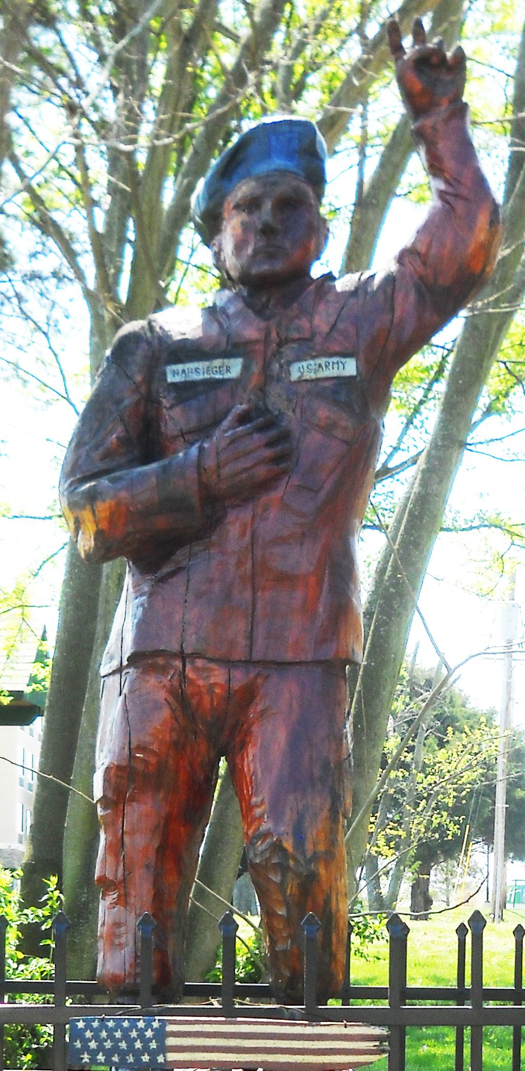 Andy Habsieger Statue