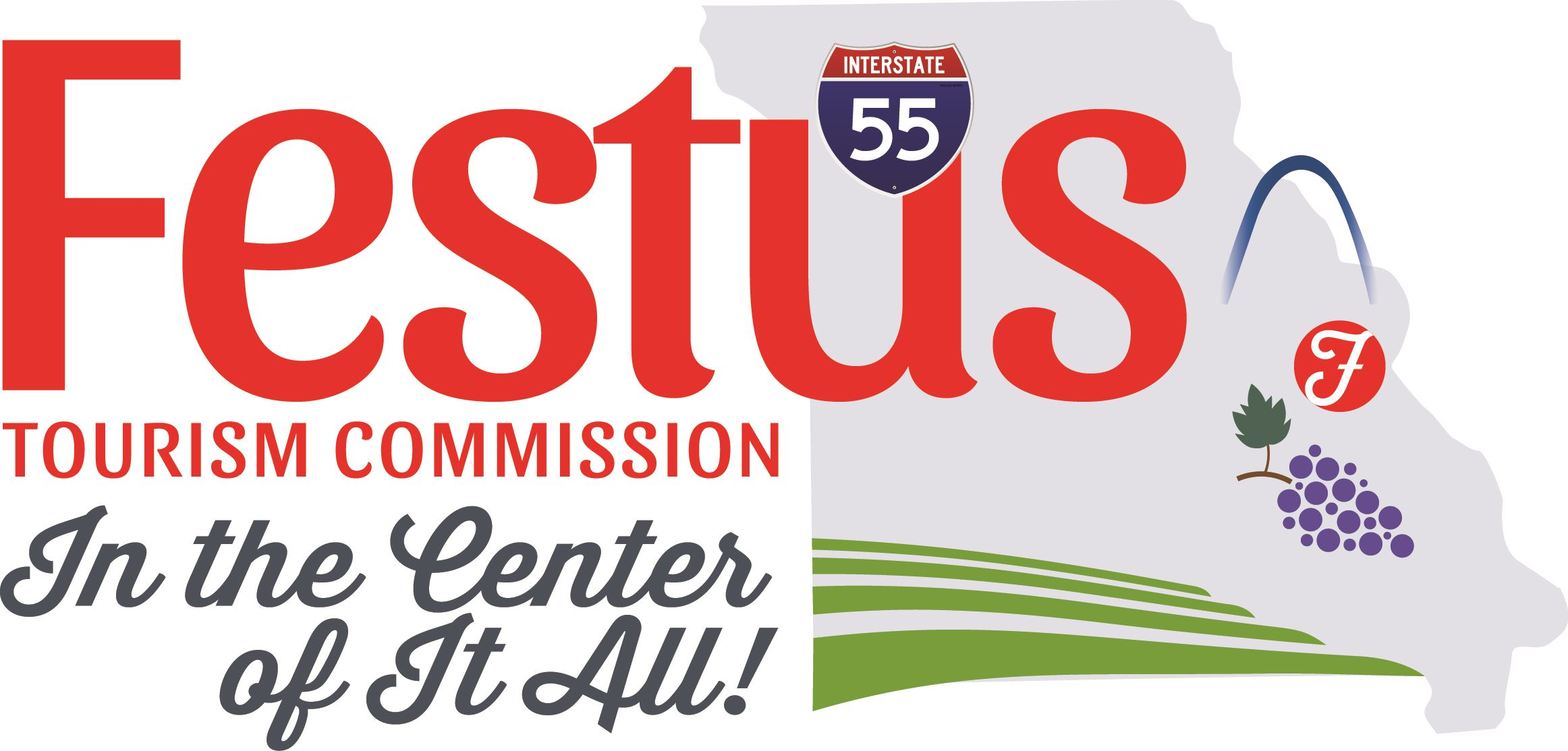 Image of the Festus Tourism Commission Logo